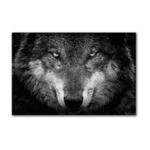 Load image into Gallery viewer, Wolf & Panther Portrait