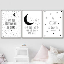 Load image into Gallery viewer, Star Moon Magic Quotes