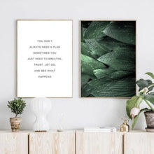 Load image into Gallery viewer, Leaf & Motivational Quotes