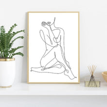 Load image into Gallery viewer, Abstract Sexy Body Line