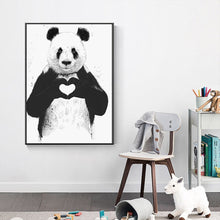 Load image into Gallery viewer, Panda & Dog Mugshot