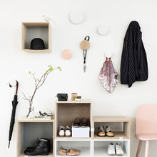 Load image into Gallery viewer, Minimalist Multi-purpose Wooden Hooks