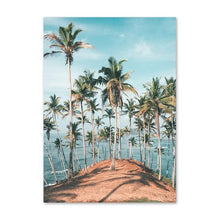 Load image into Gallery viewer, Beach & Coconut Tree