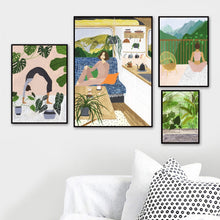 Load image into Gallery viewer, Girl & Plants