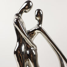 Load image into Gallery viewer, Ceramic Silver Loving Couple