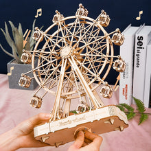 Load image into Gallery viewer, Robotime Wooden Music Ferris Wheel