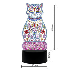 Load image into Gallery viewer, DIY Diamond Painting LED Table Lamp