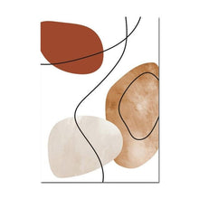 Load image into Gallery viewer, Abstract In Brown Shade