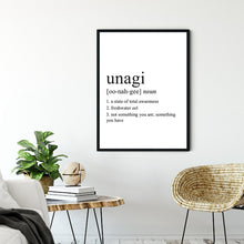 Load image into Gallery viewer, Black White Unagi Definition