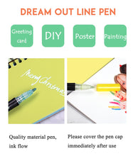 Load image into Gallery viewer, 12pcs/set Outline Metallic Marker Pen