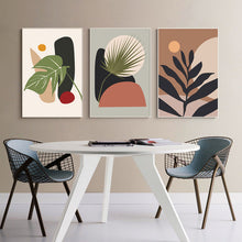 Load image into Gallery viewer, Abstract Modern Tropical Plants