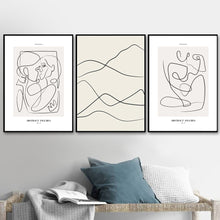 Load image into Gallery viewer, Minimalist Abstract Line & Quotes