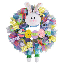 Load image into Gallery viewer, Cute Easter Bunny Wreath