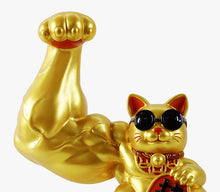 Load image into Gallery viewer, Muscular Arm Lucky Cat