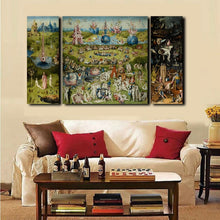 Load image into Gallery viewer, The Garden of Earthly Delights (3pcs)