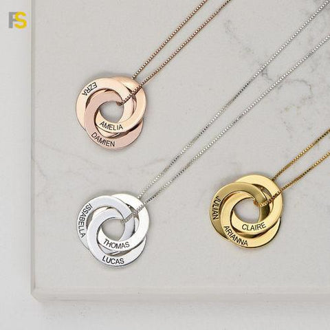 collier medaille personnalisable