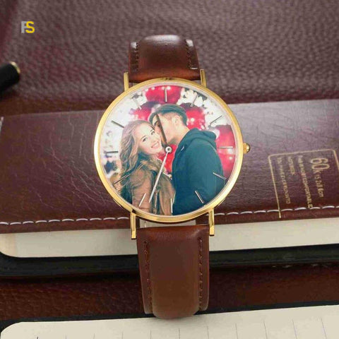 montre personnalisee photo