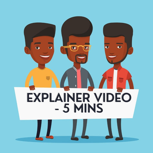Explainer Video For Your Product Or Service For 5 mins