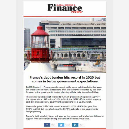 Newsletter Insertions on Global Banking & Finance Review