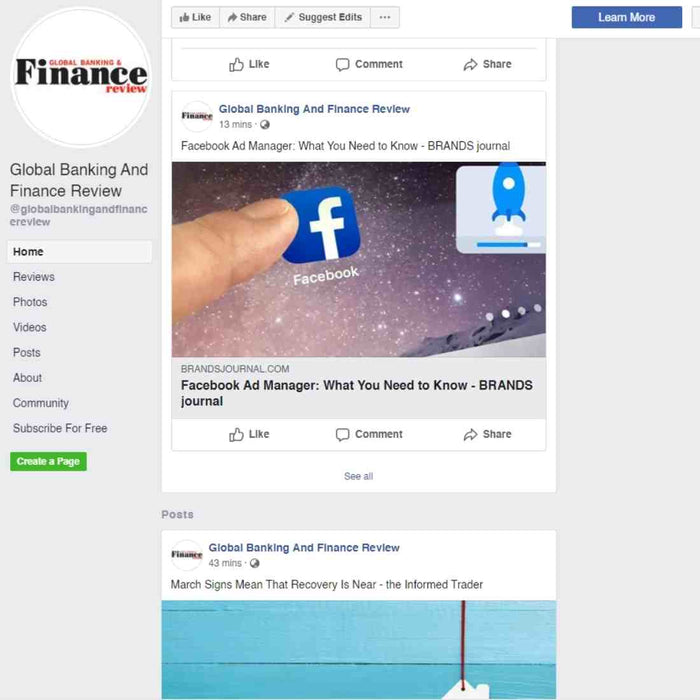 Content Promotion On Facebook - 5 Profiles