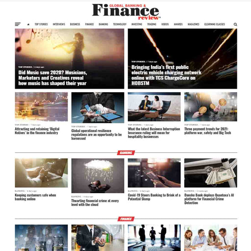 1 Advertorial Placement on globalbankingandfinance.com (Home page for 10 days)