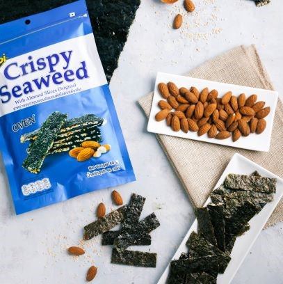 NOI Crispy Seaweed with Almond Slices Original 40g