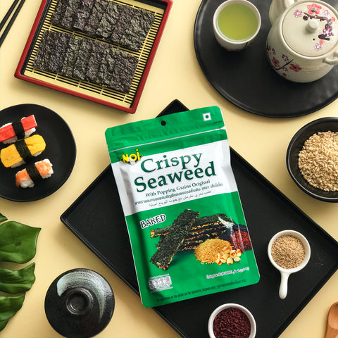 NOI Crispy Seaweed with Popping Grains 40g