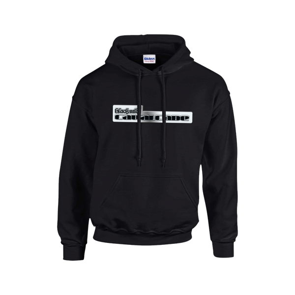 Chrome Black Hoody