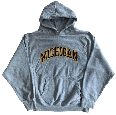 Vintage Michigan Hoodie - Small