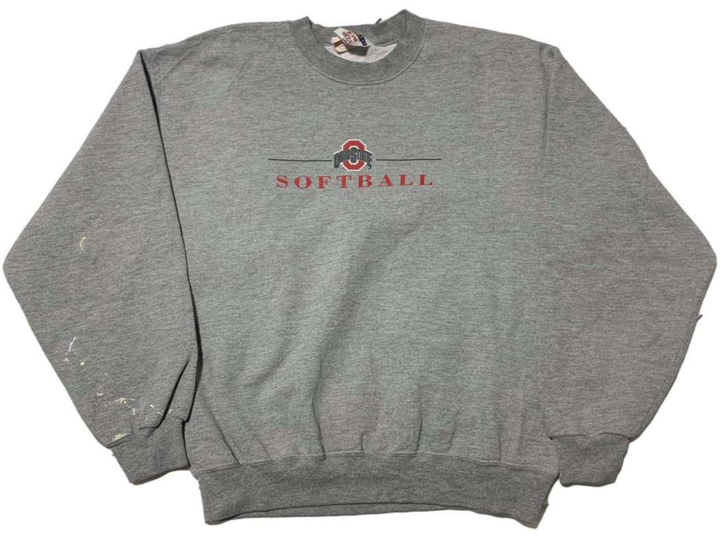 Vintage Ohio State SOFTBALL Sweater - Medium