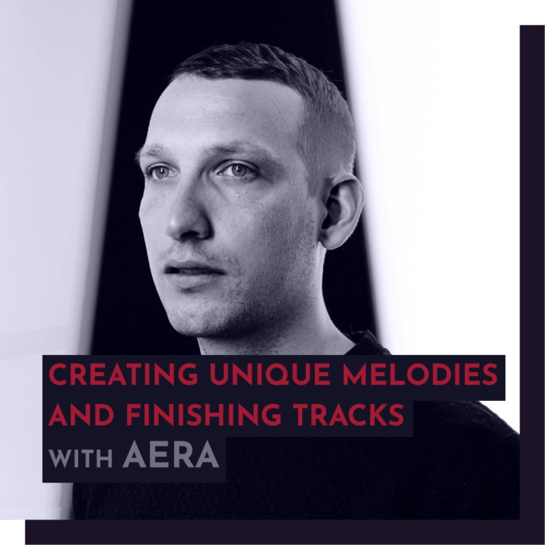 Recording - AERA (Innervisions): Creating unique melodies and how to finish what you start