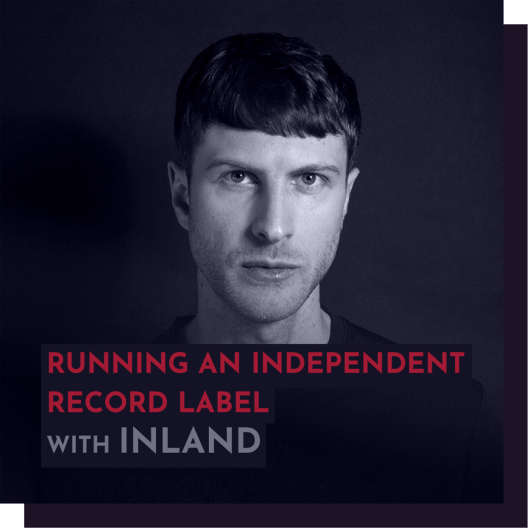 Recording - Inland/Ed Davenport: Running an independent record label / A & R / Creative curation for longevity.