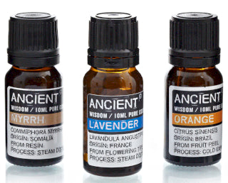 Ancient wisdom Pure essential oils. 10ml