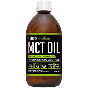 Natures aid 100% Mct oil. 500ml