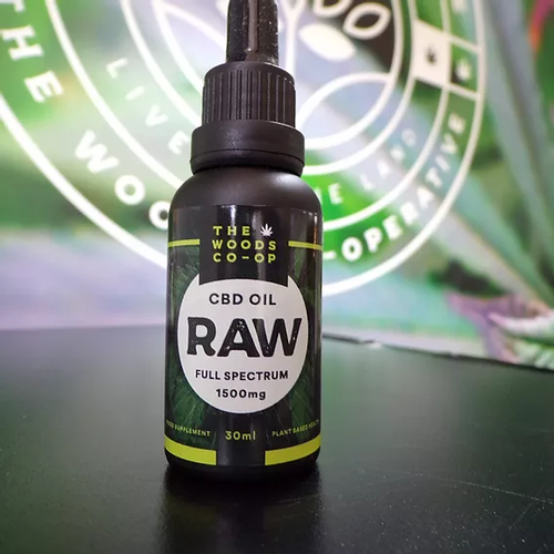 The woods co-op Raw 30ml. 1500mg