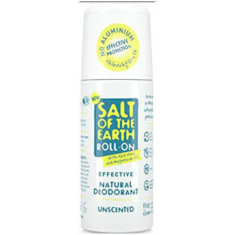 Salt of the earth Unscented natural deodorant - roll on.