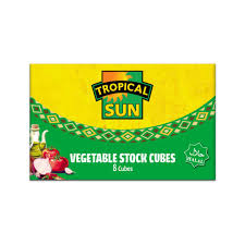 Tropical sun vegetable stock cubes.