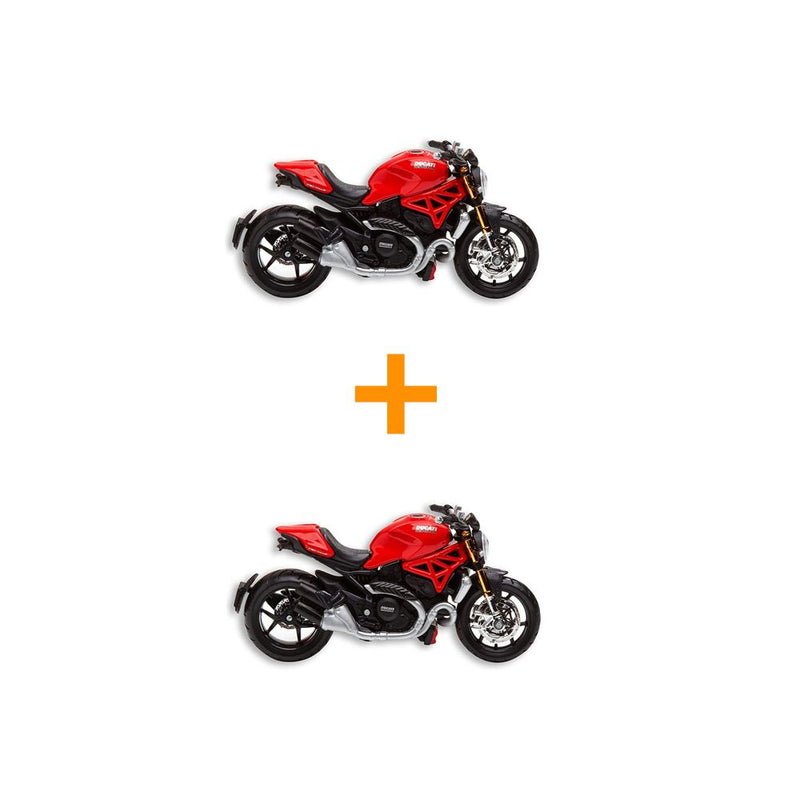 Ducati Monster 1200 Bike Model (Pack Of 2)