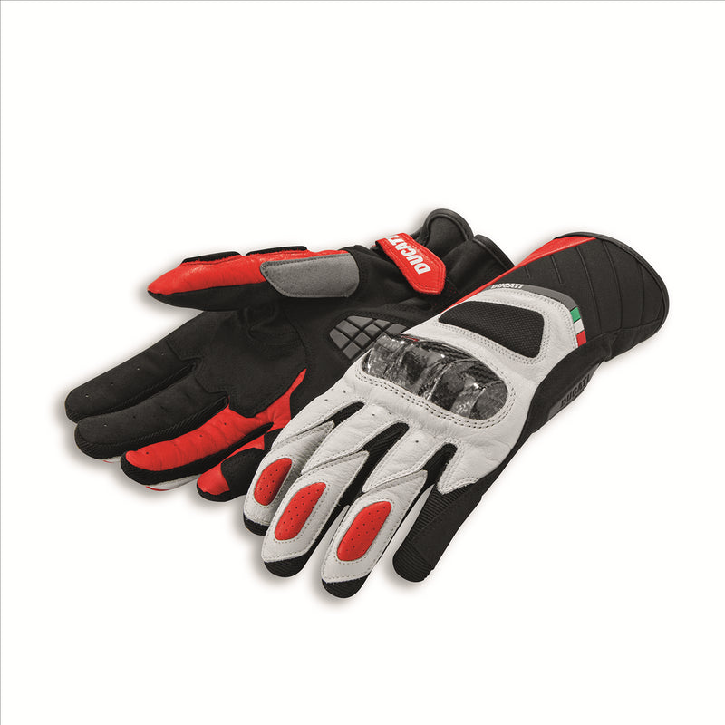 Ducati Sport C3 Leather Fabric Gloves