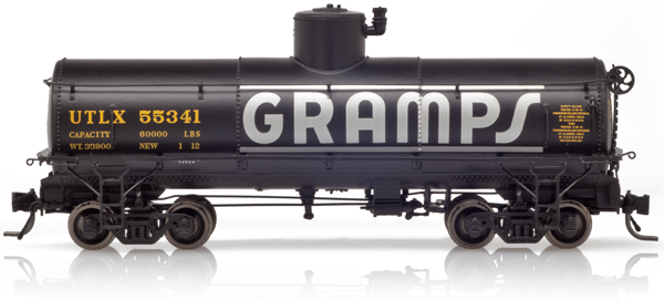 Blackstone B340656, Frameless Tank Cars #55339