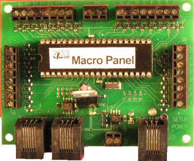 NCE - 201: MACROPANEL - For Turnout, or CTC Signal Control