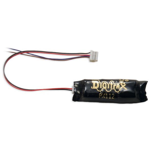 Digitrax PX112-6F Power Xtender For N Scale 6 Pin Sound Decoders for DN166PS Decoder.