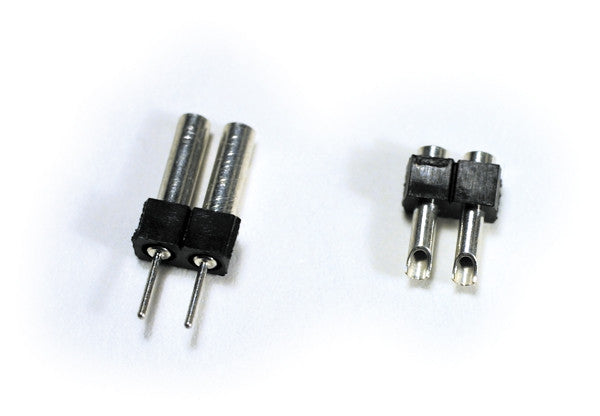 SoundTraxx - 810012: 2-Pin Microconnector Kit: Enables speakers to be easily disconnected from locomotive wiring.