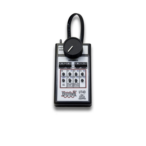 Digitrax UT4D Duplex Radio Equipped Utility Throttle with 4 Digit Addressing