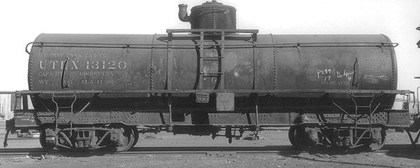 Blackstone B340603W, Weathered Narrow Frame Tank Cars #13120