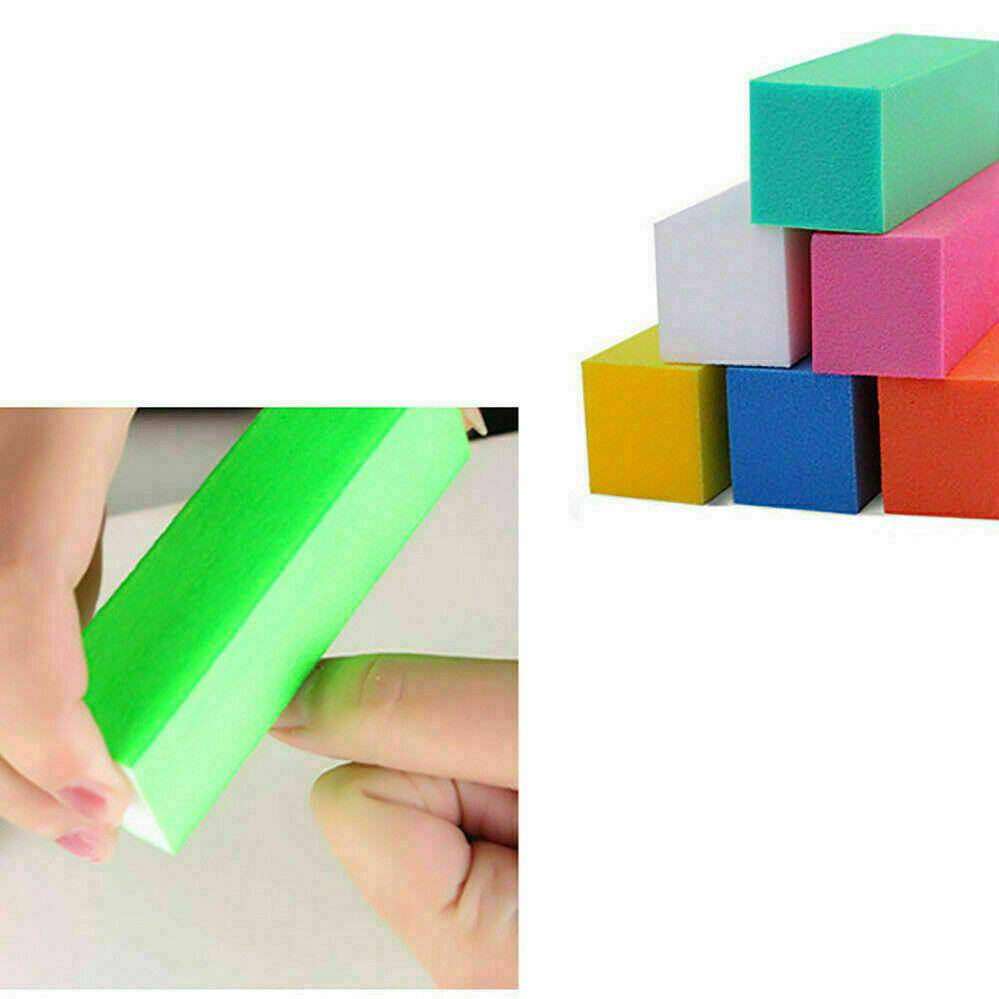 Nail Sanding Block Buffer Acrylic Files Art Sand Surface Sponge