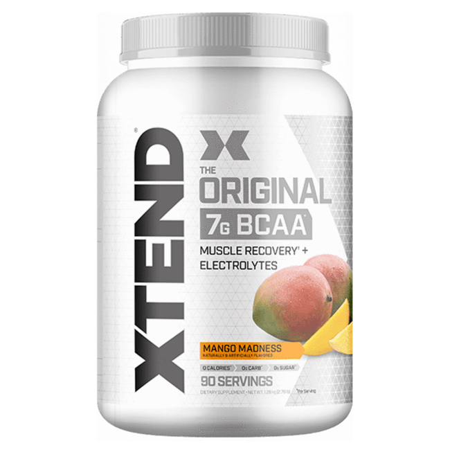 Scivation Xtend The Original 7G BCAA  Mango Madness 90 Servings (2.78Lbs)
