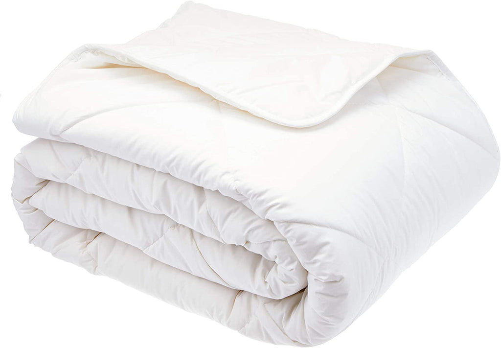 Tontine T8037 Signature Washable Wool All Seasons Quilt, Double, White