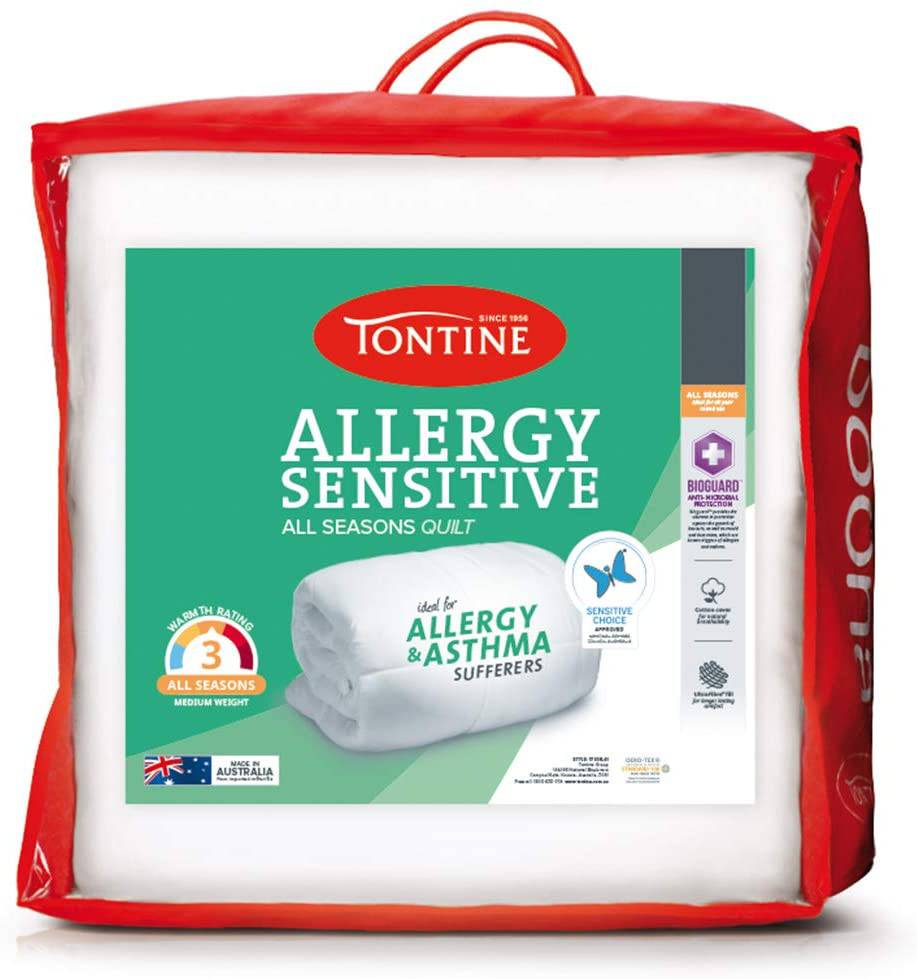 Tontine T7841 All Seasons Allergy Sensitive Quilt, King