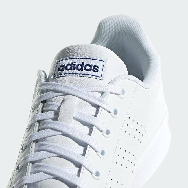 Adidas Advantage Men Tennis Shoes White/Navy
